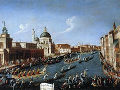 The Women s Regaton the Grand Canal – Canaletto