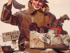 They Remembered Me – Norman Rockwell