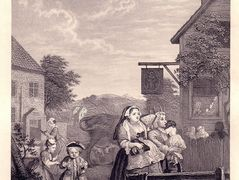 Times of the Day: Evening – William Hogarth