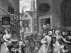 Times of the Day, Noon — William Hogarth