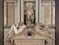 Tomb of Giuliano de Medici – Michelangelo