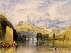 Totnes, in the River Dart – William Turner