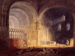 Transept of Ewenny Priory, Glamorganshire — William Turner