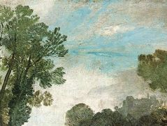 Tree Tops and Sky, Guildford Castle — William Turner