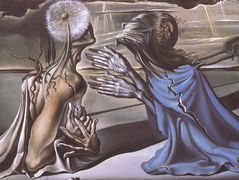Tristan and Isolde — Salvador Dali