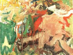 Two Figures in a Landscape – Willem de Kooning