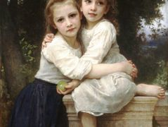 Two Sisters – William-Adolphe Bouguereau