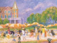 Umbrellas – William James Glackens