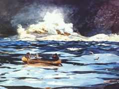Under the Falls, the Grand Discharge – Winslow Homer