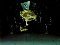 Untitled – Design for the ball in the dream sequence in 'Spellbound' – Salvador Dali