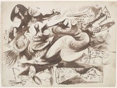 Untitled (O'Connor-Thaw 770) – Jackson Pollock