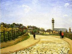 Upper Norwood, Crystal Palace, London – Camille Pissarro