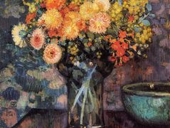 Vase of Flowers – Camille Pissarro