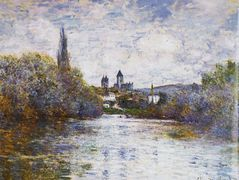 Vetheuil, The Small Arm of the Seine – Claude Monet