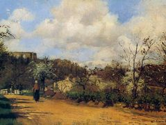 View from Louveciennes – Camille Pissarro