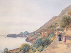 View of Ragusa – Rudolf von Alt