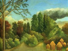 View of the Banks of the Oise – Henri Rousseau