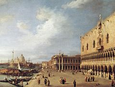 View of the Ducal Palace – Canaletto