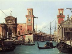View of the Entrance to the Arsenal – Canaletto