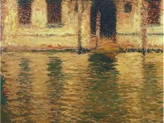 View of the Palace in Venice – Henri Martin