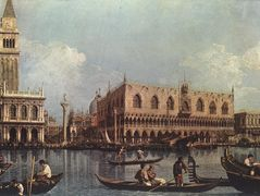 View of the St. Mark's Basin – Canaletto