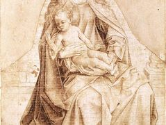 Virgin with the Blessing Child – Rogier van der Weyden