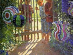 Visitors – Nikolay Bogdanov-Belsky