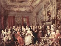Wanstead Assembly at Wanstead_ House — William Hogarth