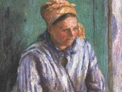 Washerwoman Study (also known as La Mere Larcheveque) – Camille Pissarro