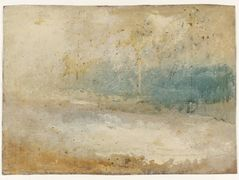 Waves Breaking on a Beach – William Turner