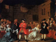 A Scene from the Beggar's Opera — William Hogarth