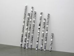 When Dickinson Shut Her Eyes No.689: THE ZEROES-TAUGHT-US-PHOSPORUS – Roni Horn