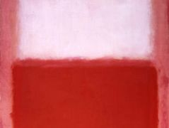 White Over Red – Mark Rothko