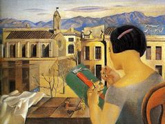 Woman at the Window in Figueras – Salvador Dali