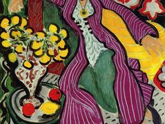 Woman in a Purple Coat  – Henri Matisse