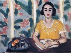 Woman Reading with Peaches – Henri Matisse