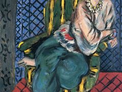 Woman sitting in a chair — Henri Matisse