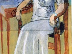 Woman with a White Dress – Henri Matisse