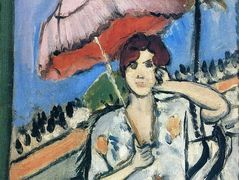 Woman with Umbrella – Henri Matisse