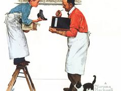 Year End Count – Norman Rockwell