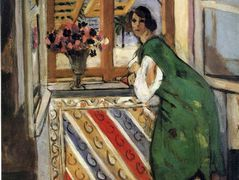 Young Girl in a Green Dress – Henri Matisse