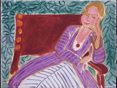 Young Girl In A Persian Dress – Henri Matisse