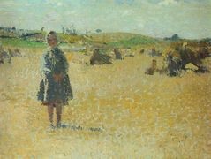 Young Girl in the Fields – Henri Martin