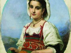 Young Italian with Sour Oranges – Konstantin Makovsky