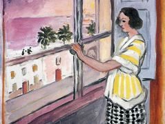 Young Woman at the Window, Sunset – Henri Matisse