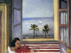 Young Woman Playing Violin – Henri Matisse