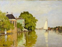 Houses on the Achterzaan — Claude Monet