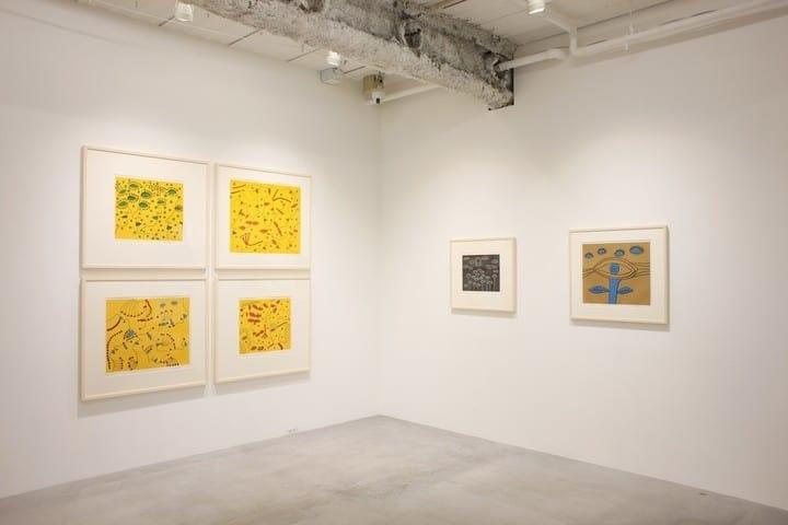 "Installation view of ""Yayoi Kusama: Prints Part 2,"" courtesy of Ota Fine Arts"