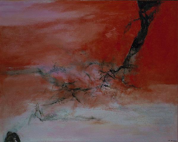 10 janvier 2001 - Zao Wou-Ki