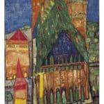 104 Cathedral I – Friedensreich Hundertwasser